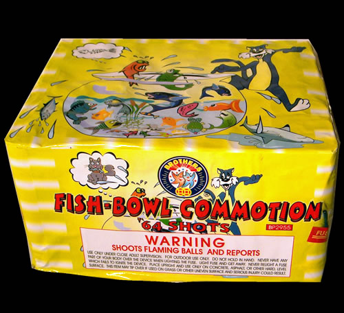 Fish Bowl Commotion - 64 shot