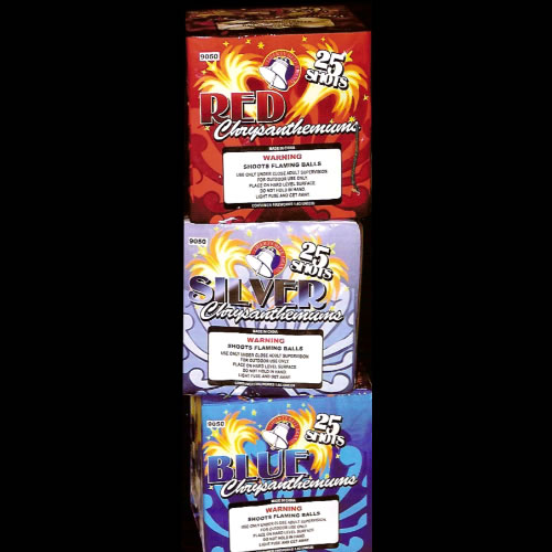 25 Shot Chrysanthemum
