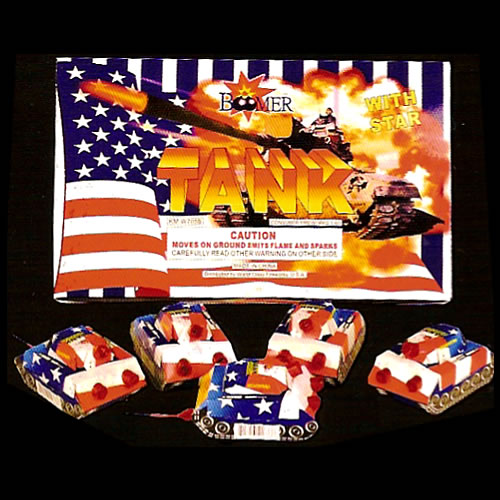 Tanks - stars-colors