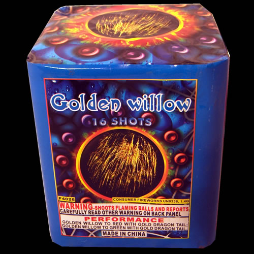 Golden Willow - 16 Shot - 300 gram