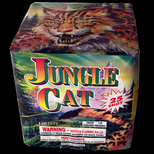 Jungle Cats - 25 Shot - 300 gram
