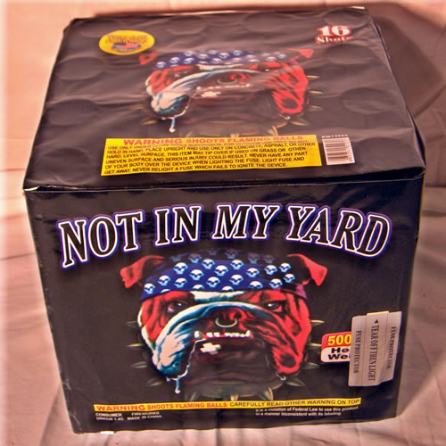Not in My Yard 16 Shot