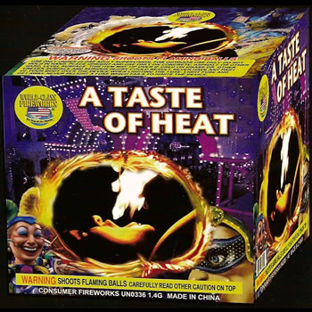 A Taste of Heat - 16 Shot