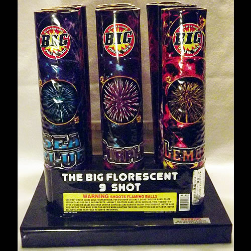 Big Florescent - 3 inch - 9 Shot