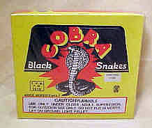 Black Snakes - 48 Boxes of 6