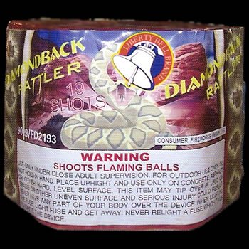 Diamondback Rattler - 19 Shot
