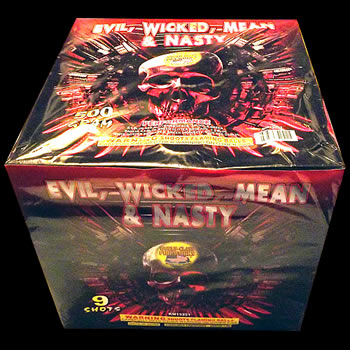 Evil Wicked Nasty - 3 inch - 9 shot
