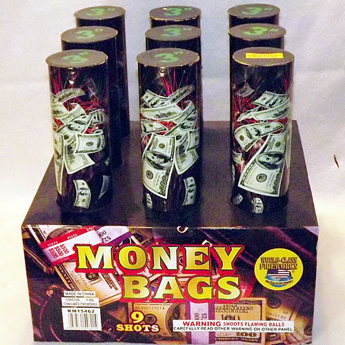 Money Bags - 3 inch - 9 shot