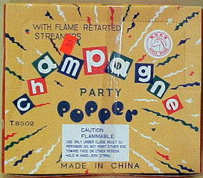 Party Poppers - 72 pieces