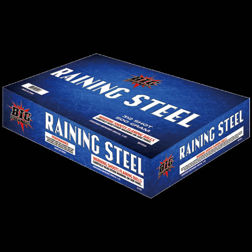Raining Steel - 312 Shot Z Cake